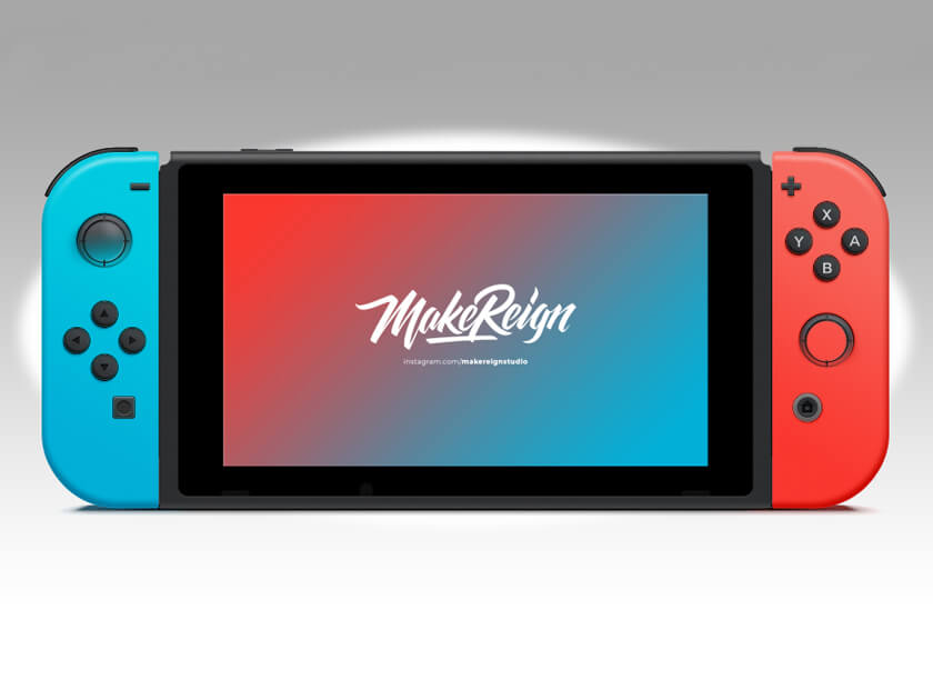 Nintendo Switch Mockup