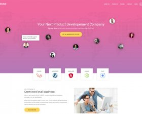 SuMo free PSD template