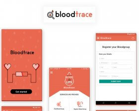 Bloodtrace App UI