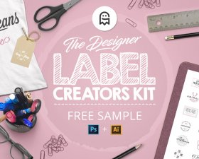 The Designer Label Creators Kit free version