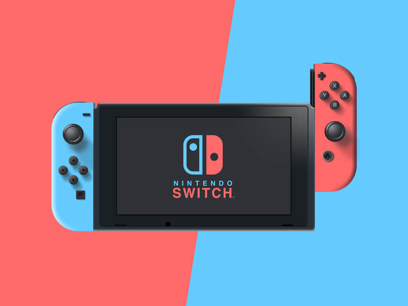 Nintendo Switch Concept Mockup
