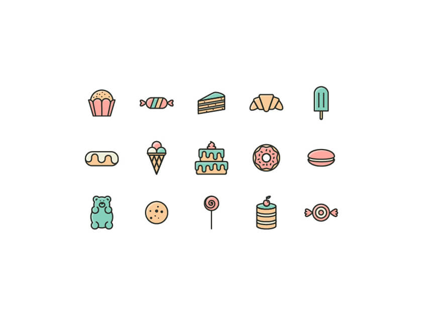 Sweets Icon Pack