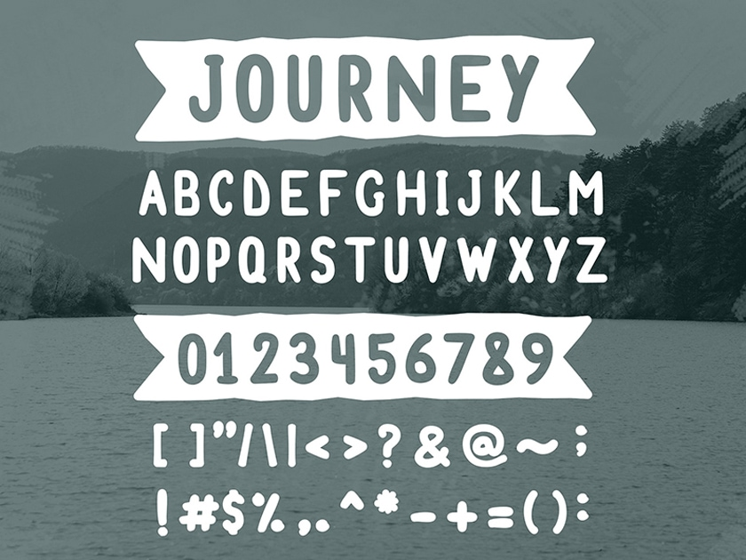 Journey Free Font