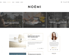 Noemi – Elegant Blog Template