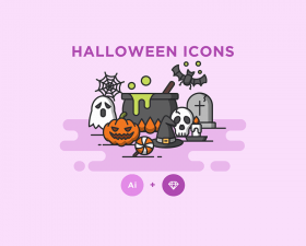 Awesome Halloween Icons