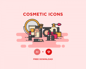 Free Cosmetic Icons