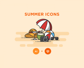Free Summer Icons