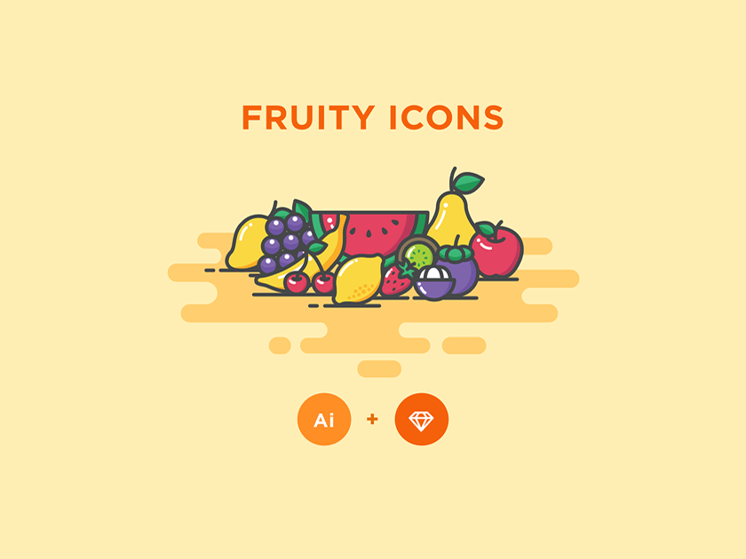 Fruity Icons