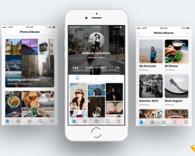 Photo Sharing App UI