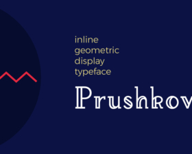 Prushkov Free Display Font