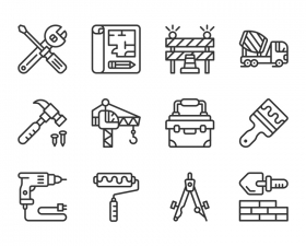 Constructions Icon Set
