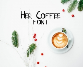 Her Coffee Font