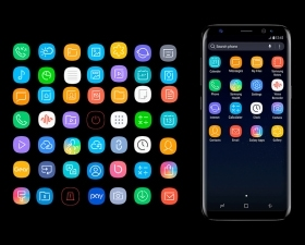 Samsung S8 Icon Pack
