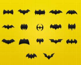 Batman Icon Set