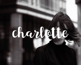 Charlotte Free Script Typeface