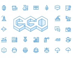 Ego Icon Set – 100 free icons