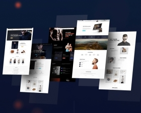 Multipurpose PSD Templates