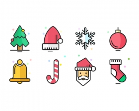 Christmas Icons in Sketch App