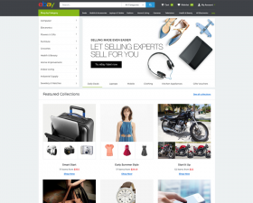 eBay Homepage Redesign