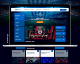 Football Portal Redesigned Template