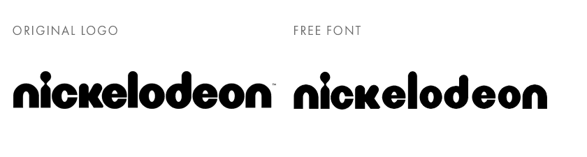 Free fonts from famous brands and logos - Fluxes Freebies