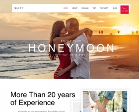 Sliyp – Travel Agency Landing Page