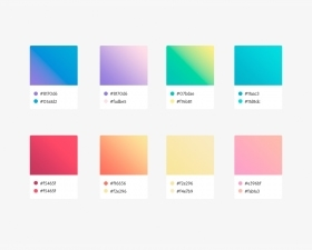 Soft gradients for Photoshop & Adobe Xd