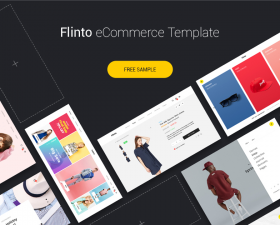 Flinto – eCommerce Template