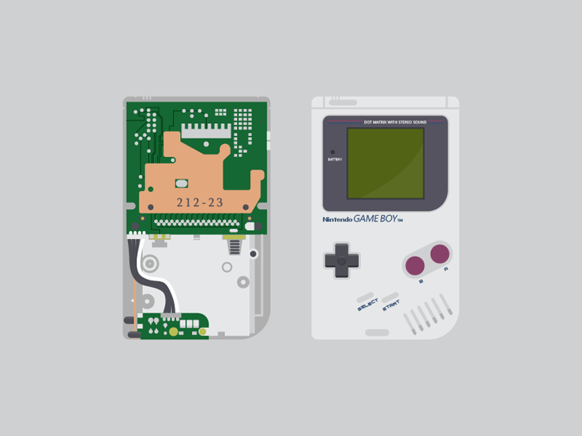 Free Game Boy Vector