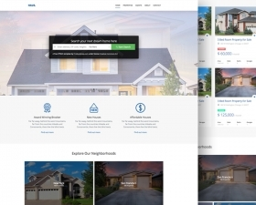 Haus – Real Estate HTML Template