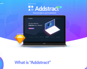 Addstract Free UI Kit