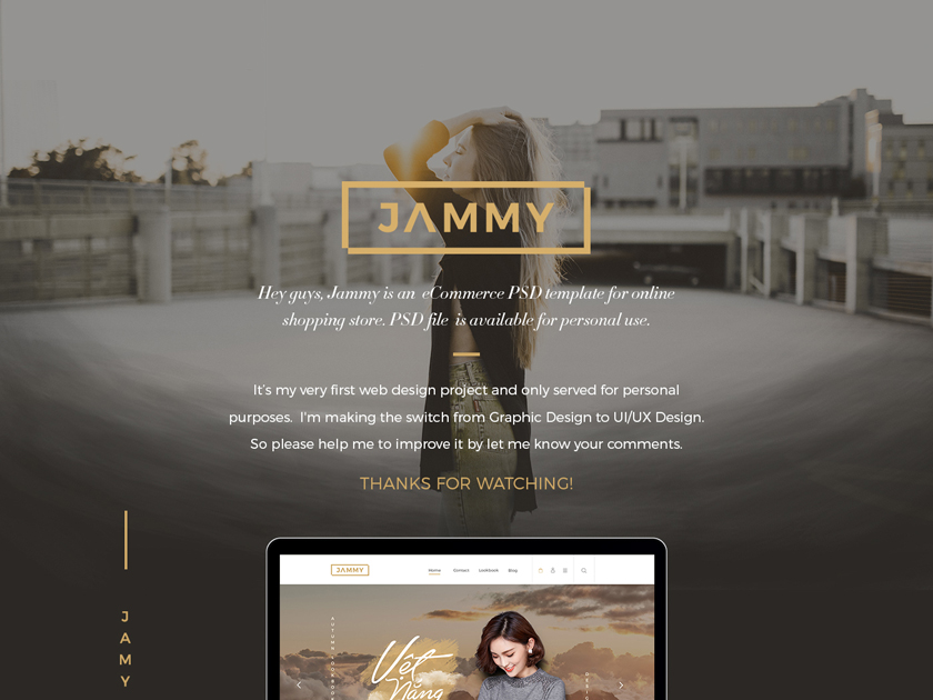Jammy eCommerce Template