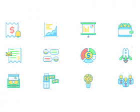 Business & Economy Icon Set