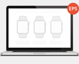 Printable Apple Watch Wireframes