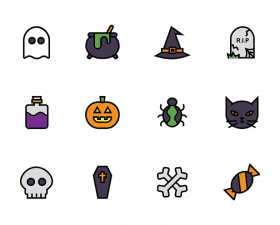 Halloween SVG Icons