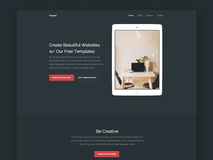 Present – Multipurpose HTML Template