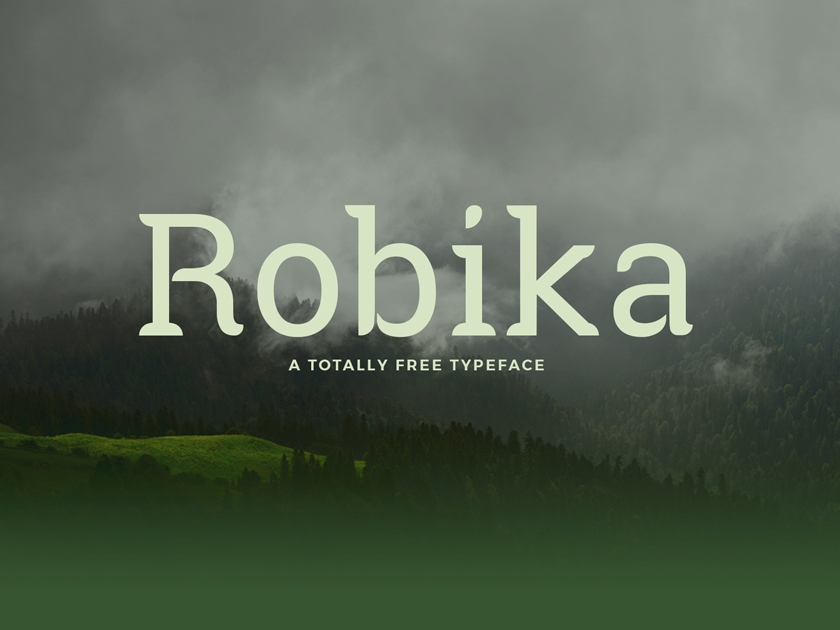 Download Robika Free Typeface - Fluxes Freebies