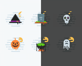 Spooky Halloween Icon Pack