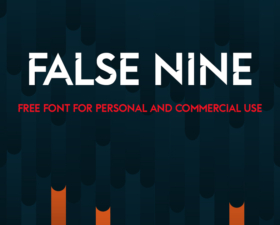 False Nine Free Font