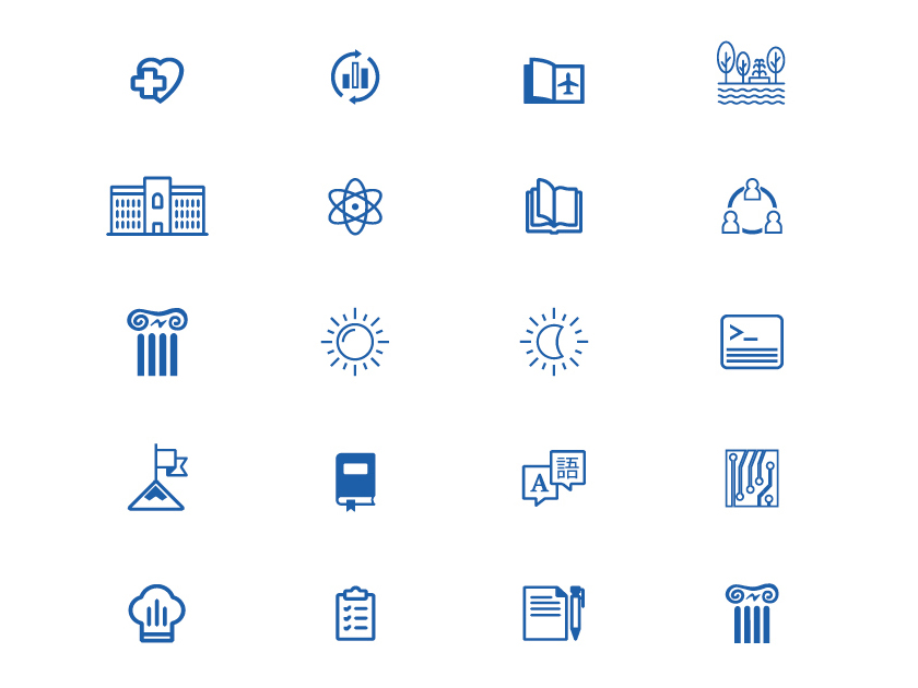 Free School Icons Set