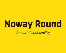 Noway Round Regular and Italic Free Font