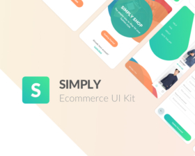 Simply e-Commerce UI Kit