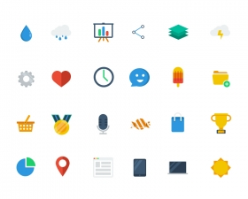 Free Colorful Iconset