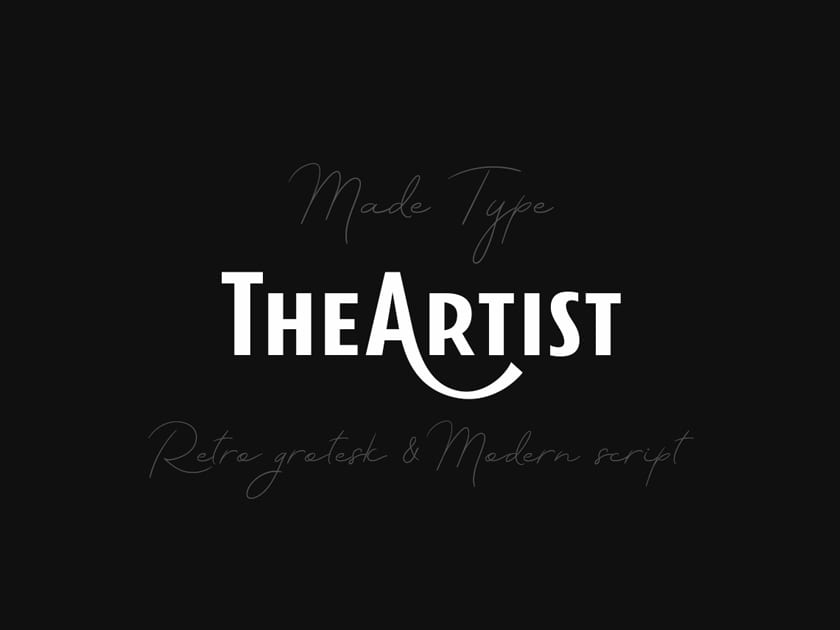 MADE TheArtist Fonts
