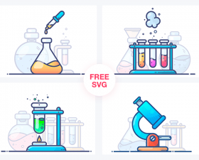 4 Free Chemistry Illustrations