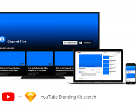 Youtube Branding Kit – Sketch Mockup