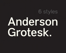Anderson Grotesk Free Font Family