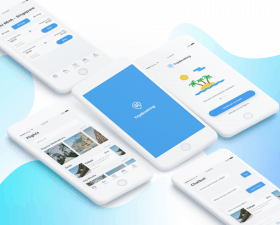 TripBooking UI Kit