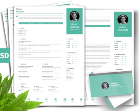 Free Resume Template Fluxes Freebies
