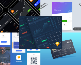 Finance Freebies – Templates, Icons, and Mockups